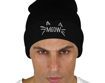 Meow Knit Cap