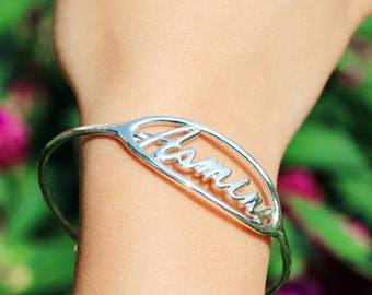 Personalized Baby Gifts, Kid's Adjustable Bangle, Child Size Bracelet, Baby Bracelet, Infant Jewelry, Baby Jewelry