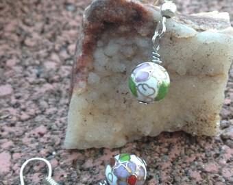 Beaded Ornate  Earrings