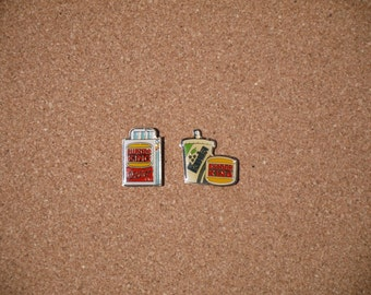 Vintage 'Burger King' Lapel Pins