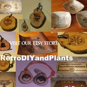 OUR ETSY STORE   -   RetroDIYandPlants