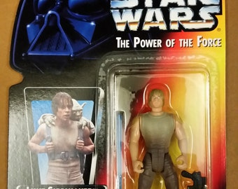 Vintage Star Wars action figure Luke Skywalker 1995