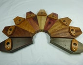 Custom Made Wooden Coffin Kazoo/Membranophone, Handcrafted in Ohio