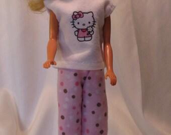Pink flannel Pajamas