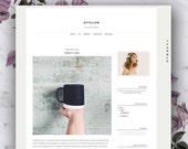 Premade Blogger Template - Ofyellow