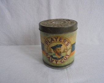 Vintage john player's cigarettes Tin/1940/john players and sons/tobaccos and cigarettes england