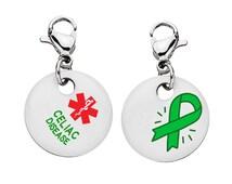 Celiac Disease Medical Alert  Bracelet Charm - Medium -7