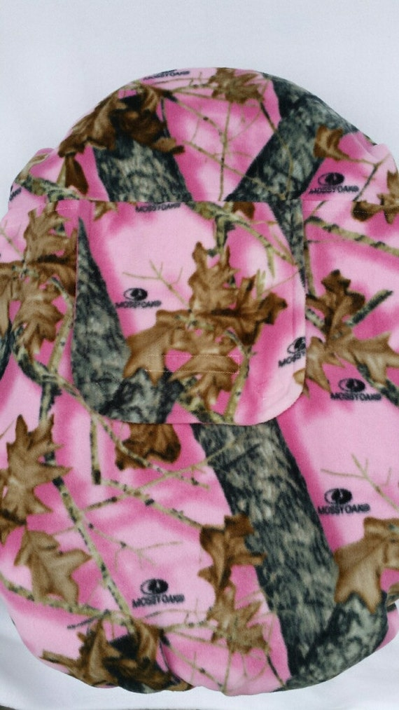 Car Seat Cover Pink Camo Baby Girl Mossy Oak By