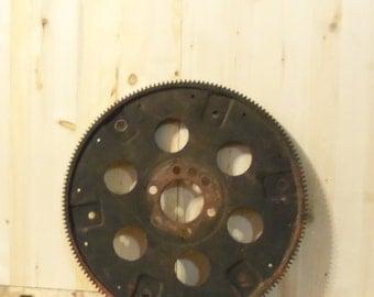 Large Flywheel Large Gear Steampunk Design