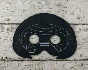 Wren Children's Felt Mask  - Costume - Theater - Dress Up - Halloween - Face Mask - Pretend Play - Party Favor