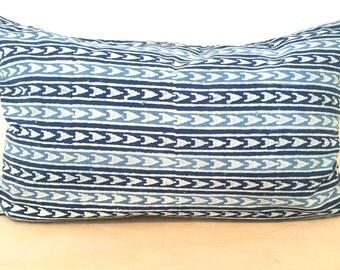 Indigo, Block Print, Indian, Textile, Cover