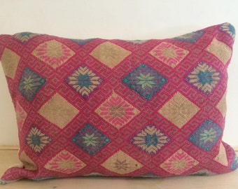 SALE-Vintage, Chinese  Wedding Pillow Cover