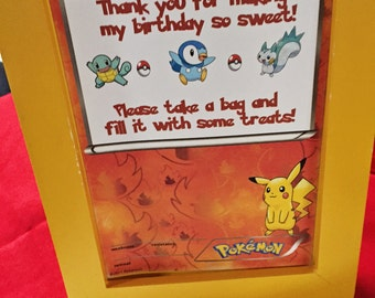 Pokemon Cookie or Candy Buffet Sign