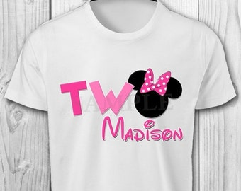 DIGITAL FILE - Minnie Mouse Iron On Transfer Image - Minnie Mouse Iron On Shirt - Minnie Mouse Printables - Minnie Mouse Iron On Transfer