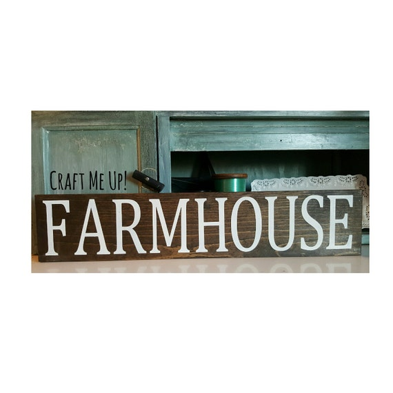 FARMHOUSE WOODEN SIGN-farmhouse Sign-farmhouse Decor-kitchen