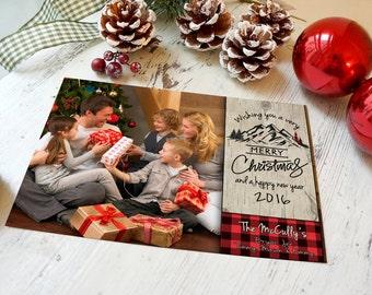 Lumberjack Christmas Cards, Plaid Christmas Cards, Lumberjack Holiday Card, Lumberjack Christmas, Plaid Holiday Card, Buffalo Plaid