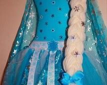 Elsa Hair Bow Holder