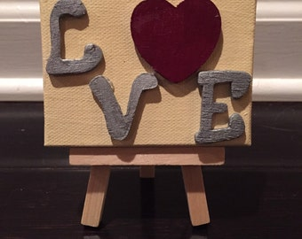 Mini Love canvas