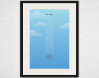Oh No, Not Again - Hitchhiker's Guide to the Galaxy Wall Art and Canvas Print
