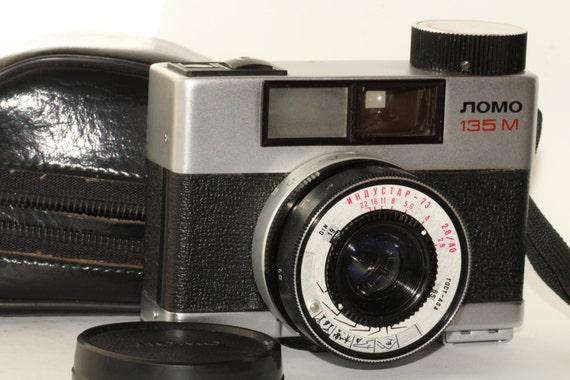 Soviet LOMO-135M 35mm RF MotorDrive camera w/ Industar-73 2.8/40mm j