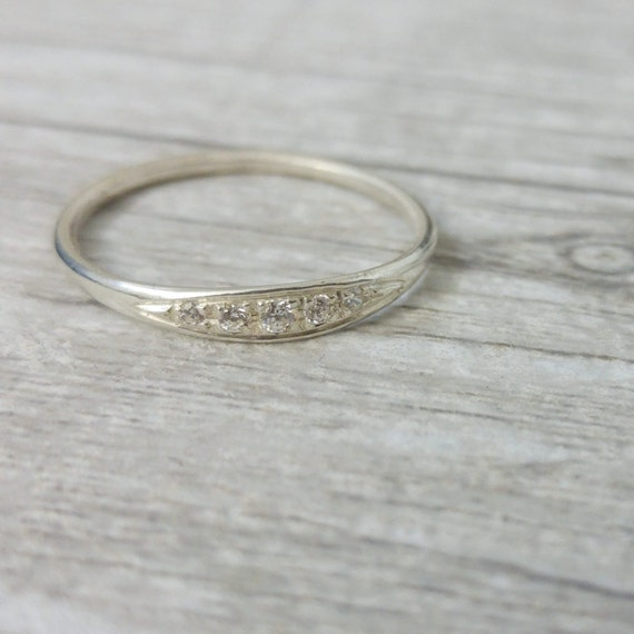 delicate engagement ring and unique engagement ring