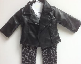 Doll Clothes - Jacket Outfit