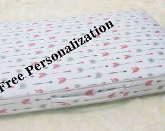 Heavy Duty Personalized and Reversible Box Type Dog Bed Cover (8oz Cotton)