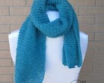 Soffice sciarpa, soft scarf, sciarpa a maglia, knitted scarf, wool scarf, handmade scarf, handmade gift, handmade, made in Italy