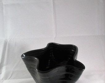 Black Organic Bowl