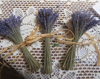 LAVENDER DRIED BUNCH   7 inch stems   Crafting   flower arrangements    potpourri  Bridal Bouquets