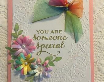 Thinking of You, Cards, Someone Special, Elegant, Feminine,