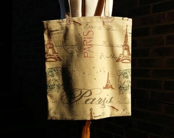 La Belle Paris - Handmade Tote Bag