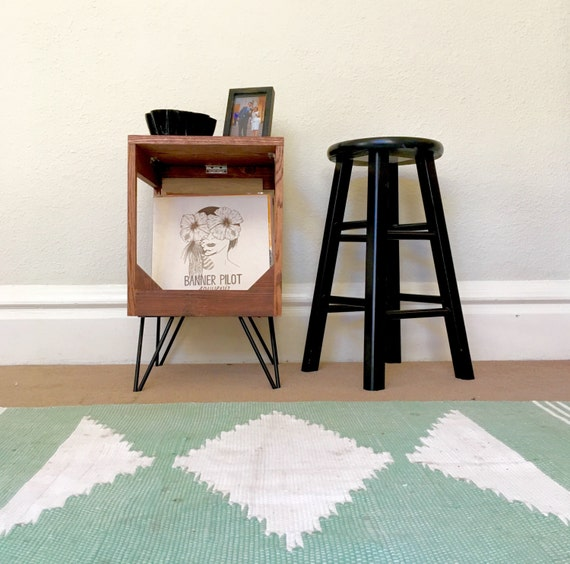 Vinyl Record Display End Table Practical Way To Display And