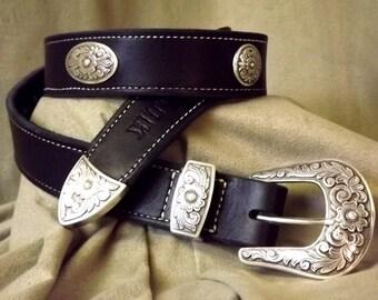 Western Style Belts