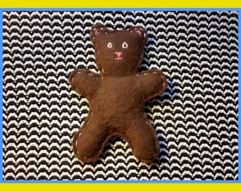 Teddy Bear All-in-One Herbal Blend Cat Toy
