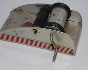 Superior All Metal Printing Press Vintage in Original Box, Toy Letterpress