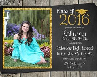 Graduation Printable Invitation *** ON SALE ***