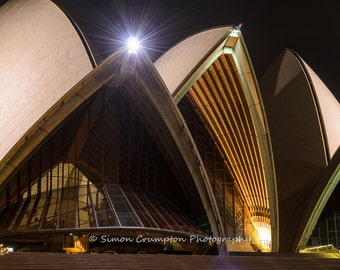 Sydney Opera House - Australia - Landscape - Fine Art Print