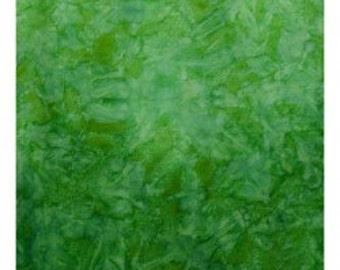Java Fusion Batik- Green- Freshwater Designs- 100% Cotton
