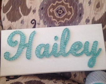 String Art Name Board- made to order