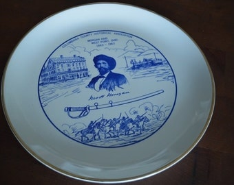 Columbiana County Morgan Raid Commemorative Plate