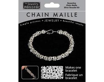 DIY Chain Mail: Byzantine Necklace
