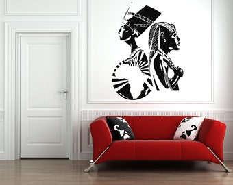 Nefertiti wall decal Etsy UK