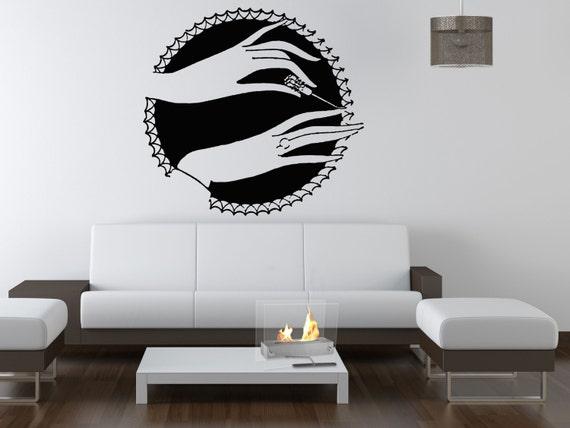 Wall Sticker Decals Room Design Decor Art Pattern Nail Salon
