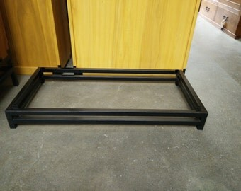 """4"""" high metal stand for tansu"""