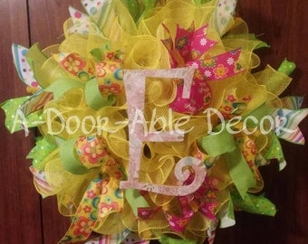 A Colorful Spring wreath