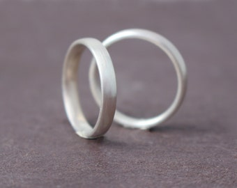 Plain wedding rings