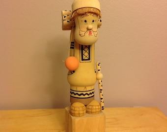 FREE SHIPPING!  Soviet made Woodsman folk art