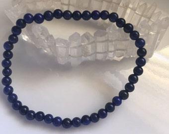 Lapis Lazuli Bracelet, HEALING, Reiki, Meditation, Spiritual Jewelry