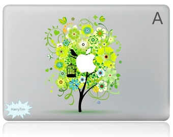 New tree mac stickers Macbook decal macbook stickers apple decal mac decal four seasons stickers 02